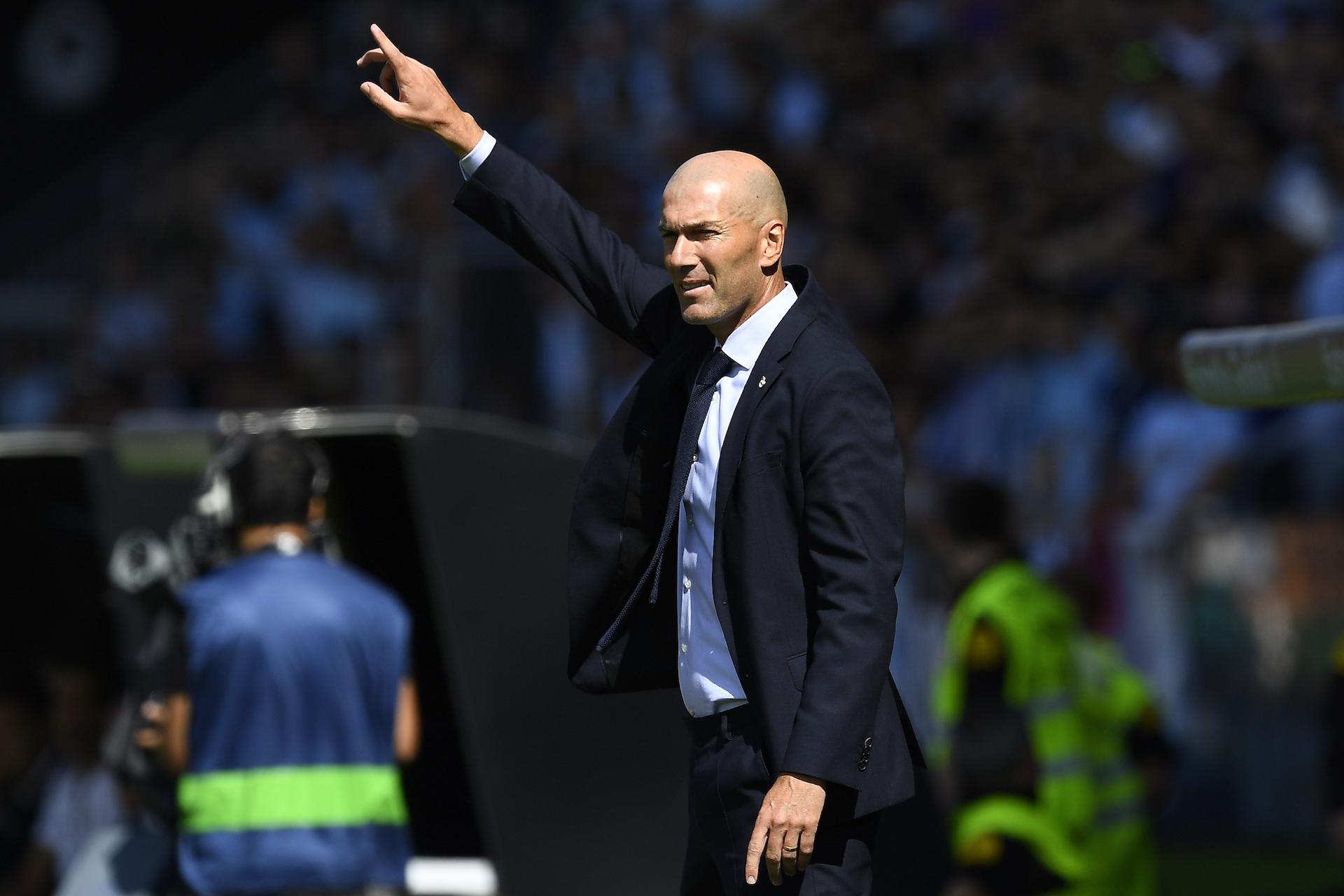 """Real Madrid, Zidane : """"Keylor Navas ne m'a pas demandé à partir"""""""