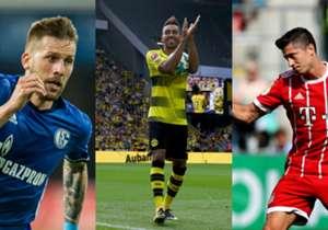 <p>Die Bundesliga startet in ihre 55. Spielzeit. Das Rennen um den Titel des Torschützenkönig wird wieder in den Fokus rücken. Im letzten Jahr duellierten sich Dortmunds Pierre-Emerick Aubameyang und Robert Lewandowski vom FC Bayern bis ...