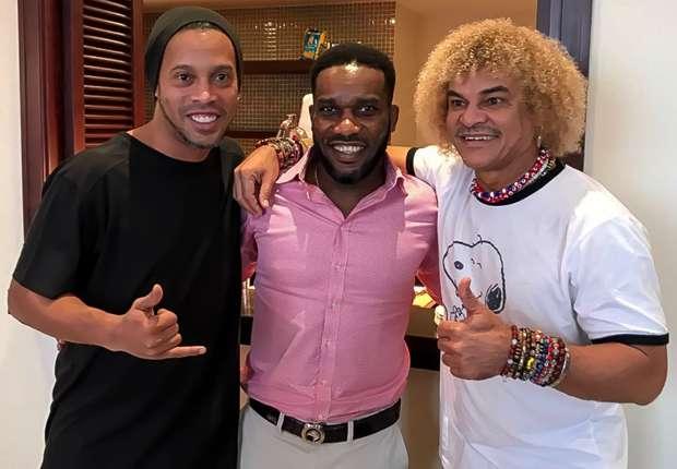 Ronaldinho, Okocha & Valderama