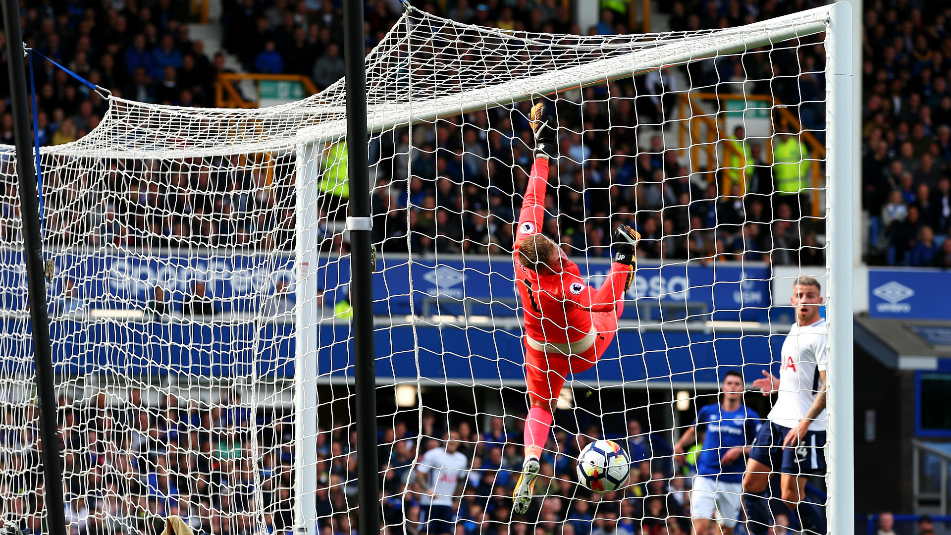 Harry Kane Tottenham Hotspur Everton 09092017