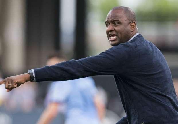 Vieira laughs off rumors linking him to European managerial jobs