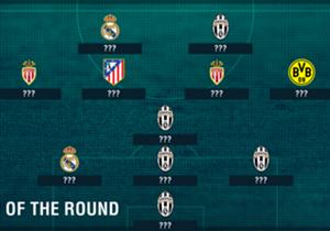 Door uitstekende optredens in de heen- en terugwedstrijden staan Cristiano Ronaldo en Kylian Mbappé in het Champions League Team van de Kwartfinale. Wie staan er nog meer in?