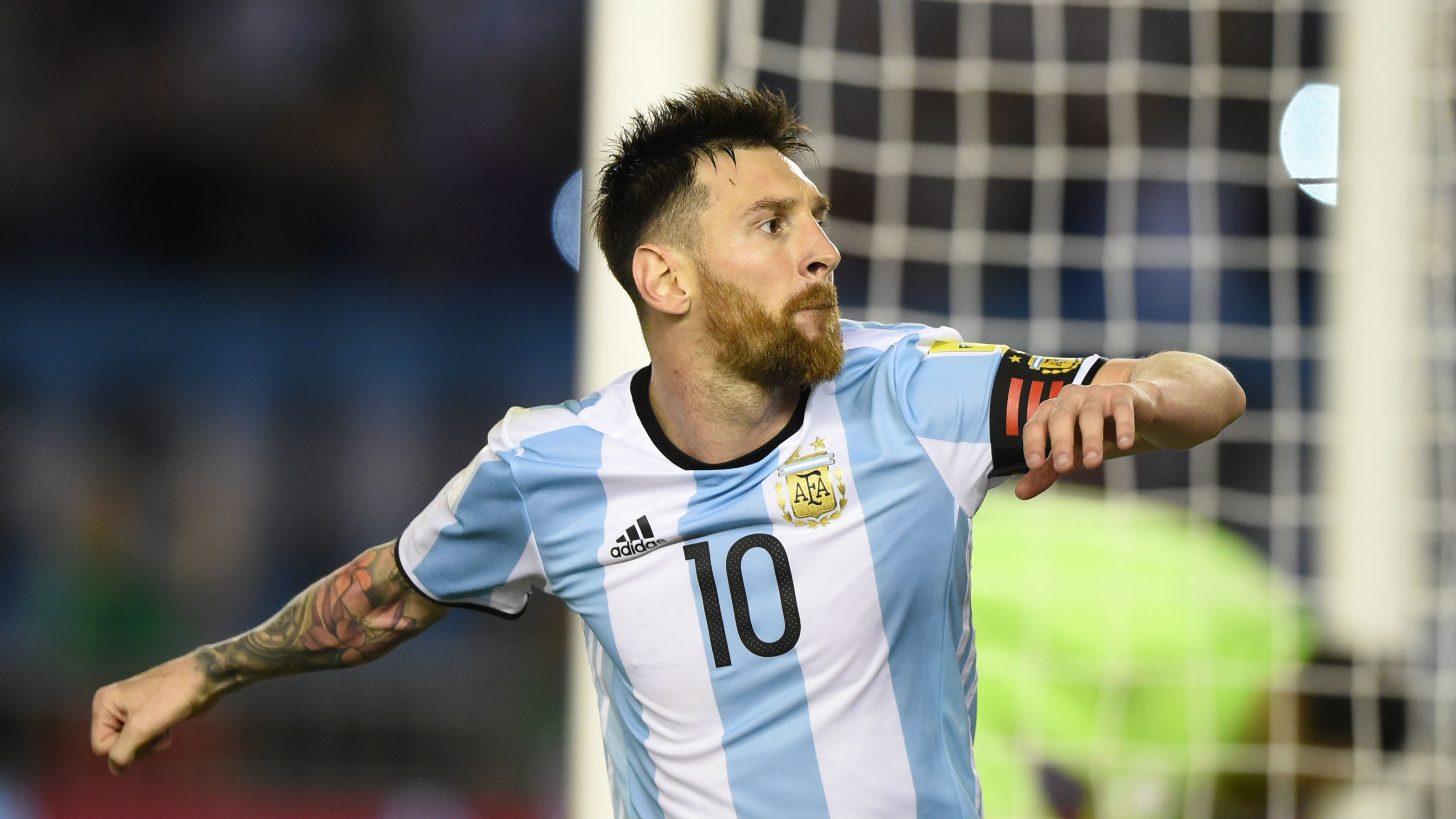 what did lionel messi say to get banned for argentina