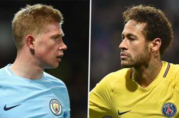 Crunch time for De Bruyne & Neymar in race for Ballon d'Or