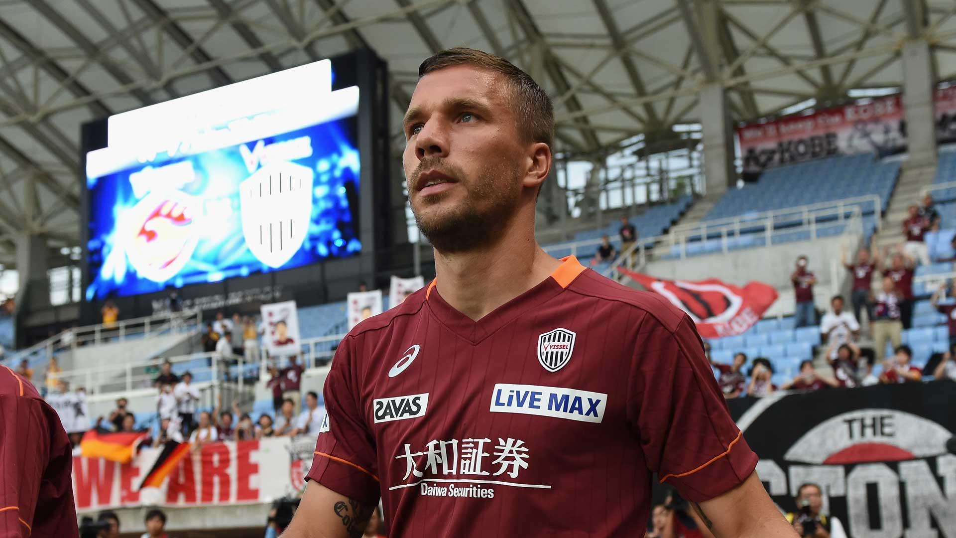 Traum-Debüt in Japan: Lukas Podolski schnürt Doppelpack bei Kobe-Einstand