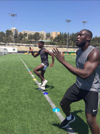 Romelu Lukaku Paul Pogba Training USA