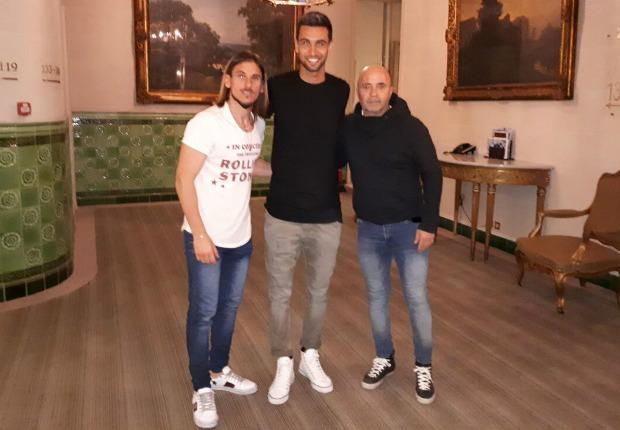 Sampaoli se reunió con Di María y Lo Celso en París