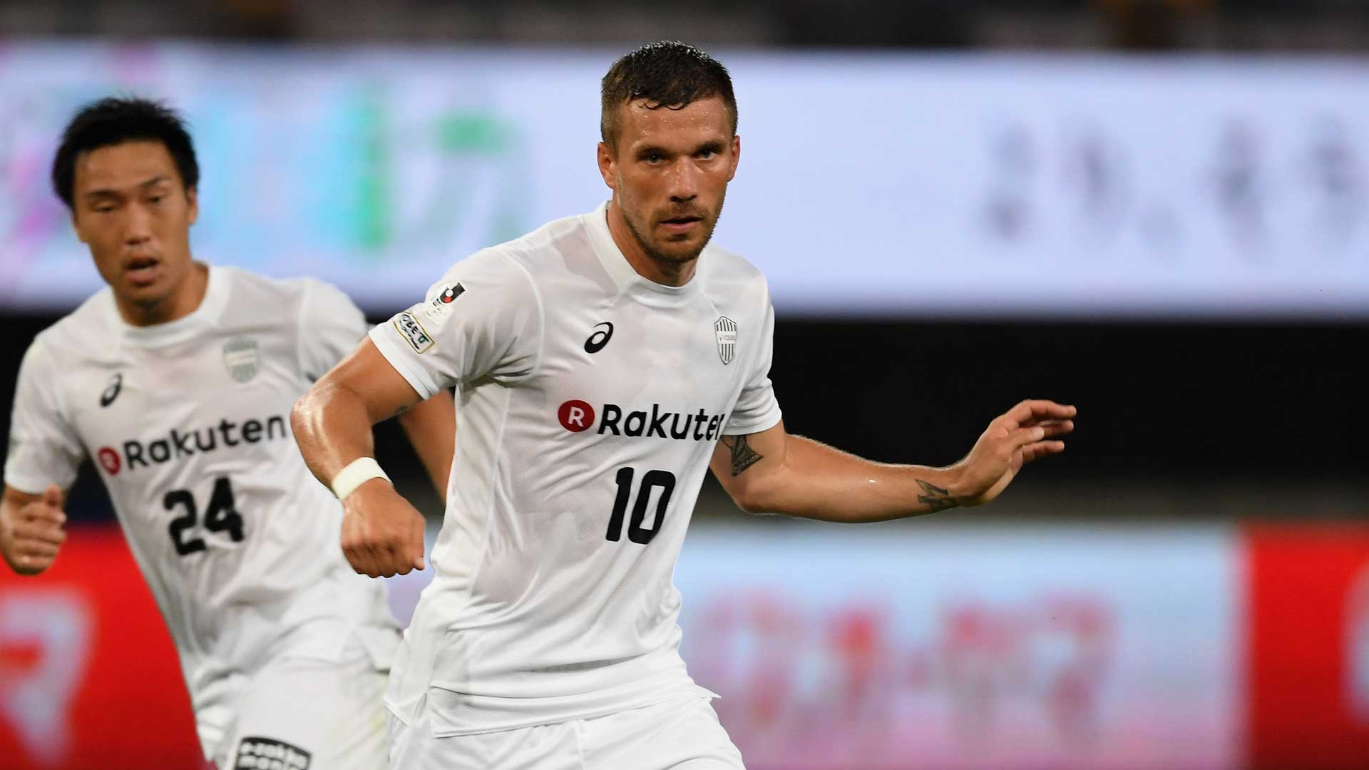 Traumeinstand für Podolski in Japan