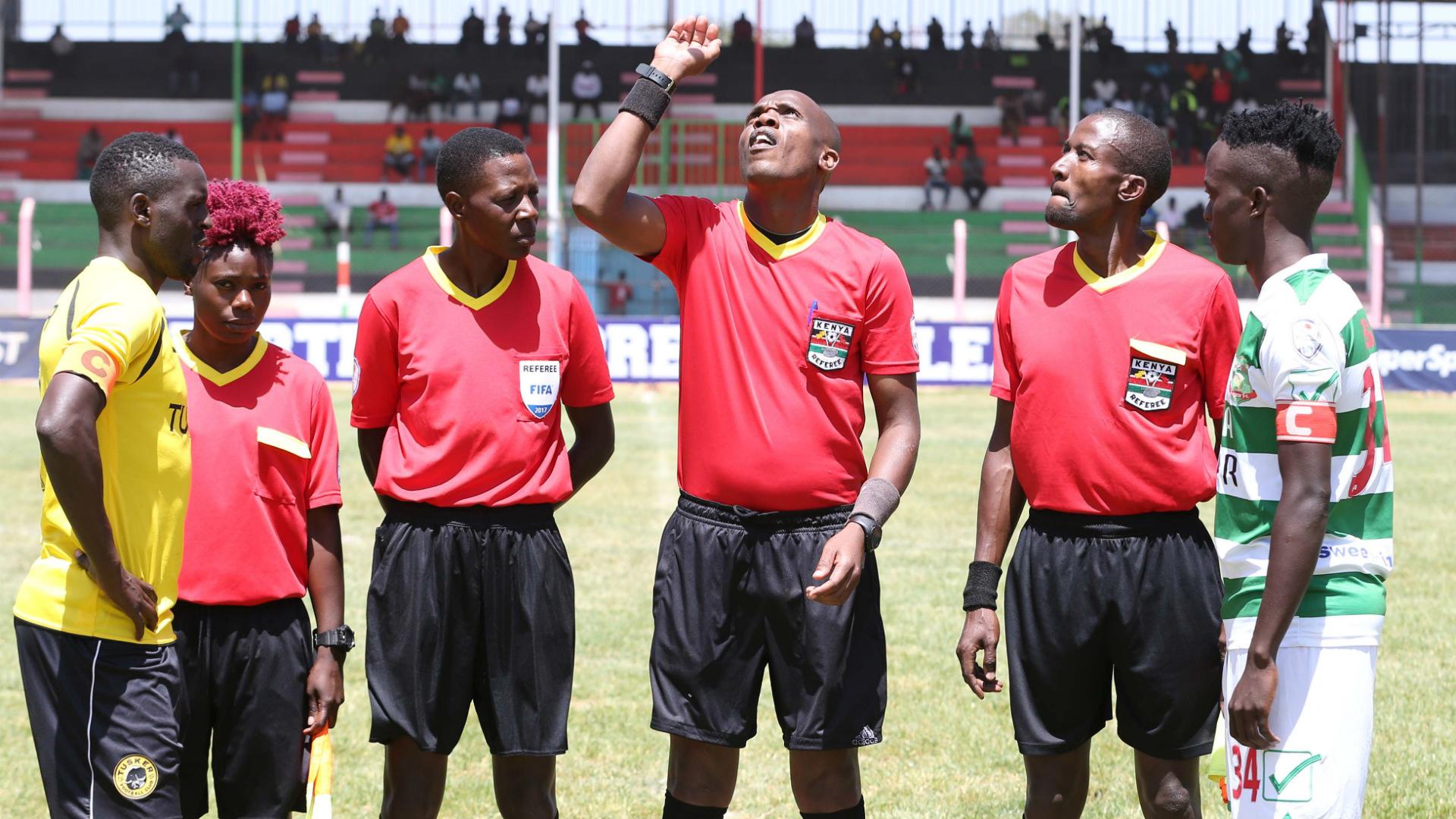 Nzoia Sugar v Tusker referees