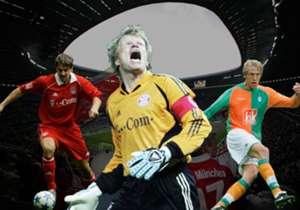 Über zehn Jahre ist es nun her - umso kurioser muten teilweise die Werte der Deutschen bei FIFA 05 an. Goal hat die 20 besten DFB-Kicker zusammengestellt.