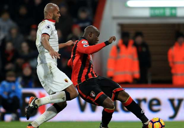 Bournemouth 2-2 Watford: Afobe strikes late to deny Mazzarri's men