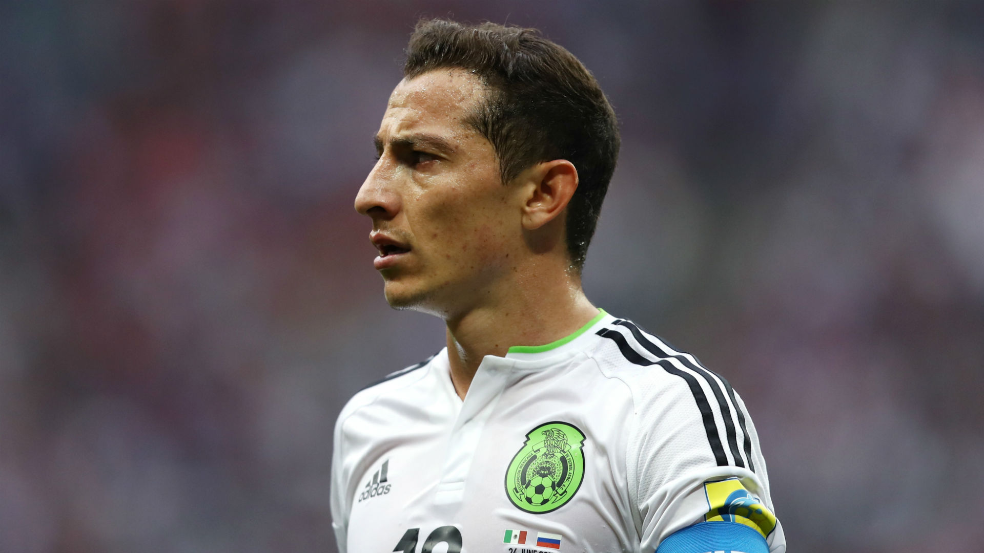Andres Guardado Mexico Confederations Cup