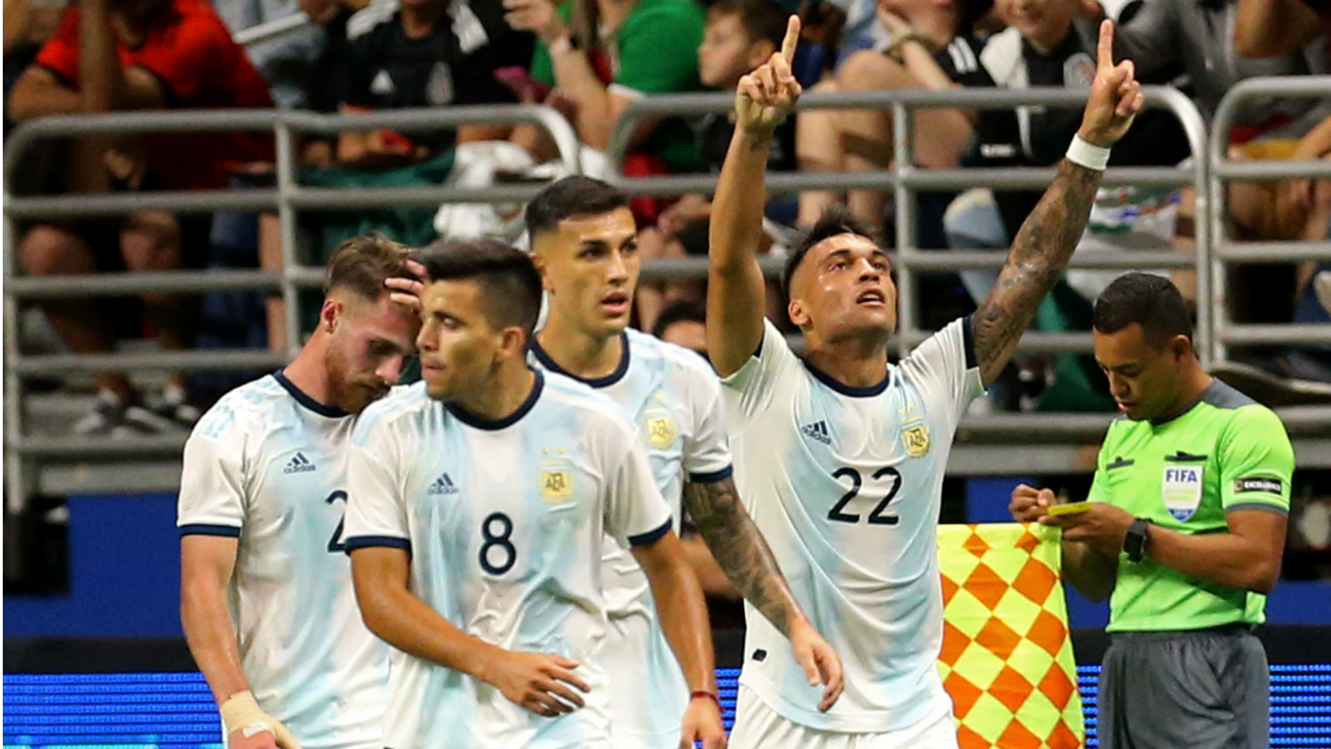 Martinez leads Argentina to Mexico thrashing