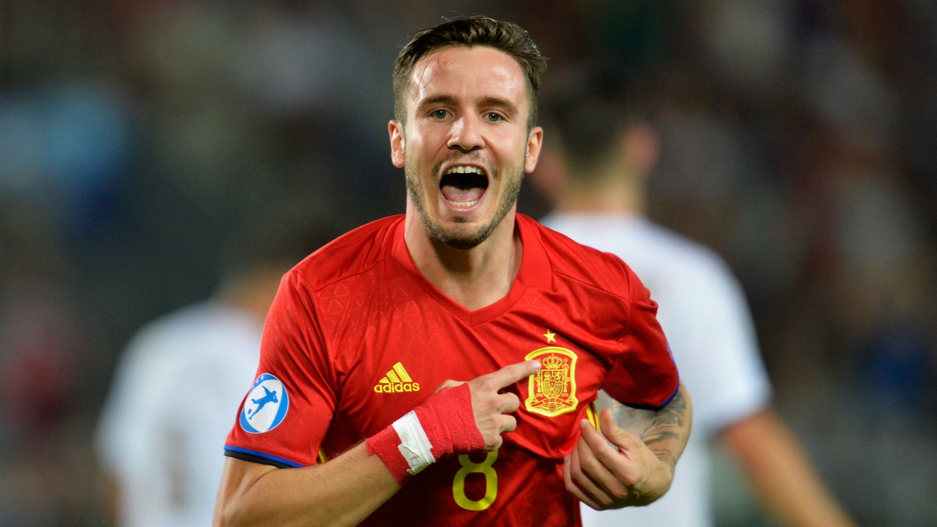 Saul Niguez Spain U21 vs Italy