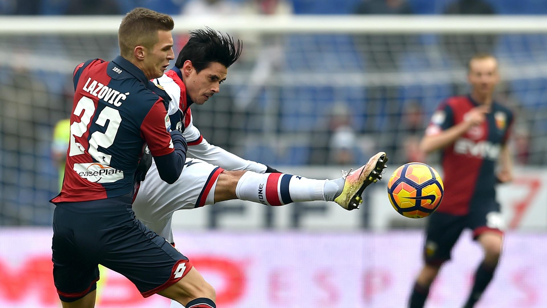 Genoa-Crotone 2-2: Grifone in crisi nera