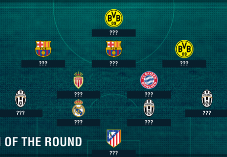CL Best Team of the Round