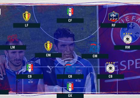 Best XI : ทีมยอดเยี่ยม ยูโร 2016 รอบ 16 ทีม