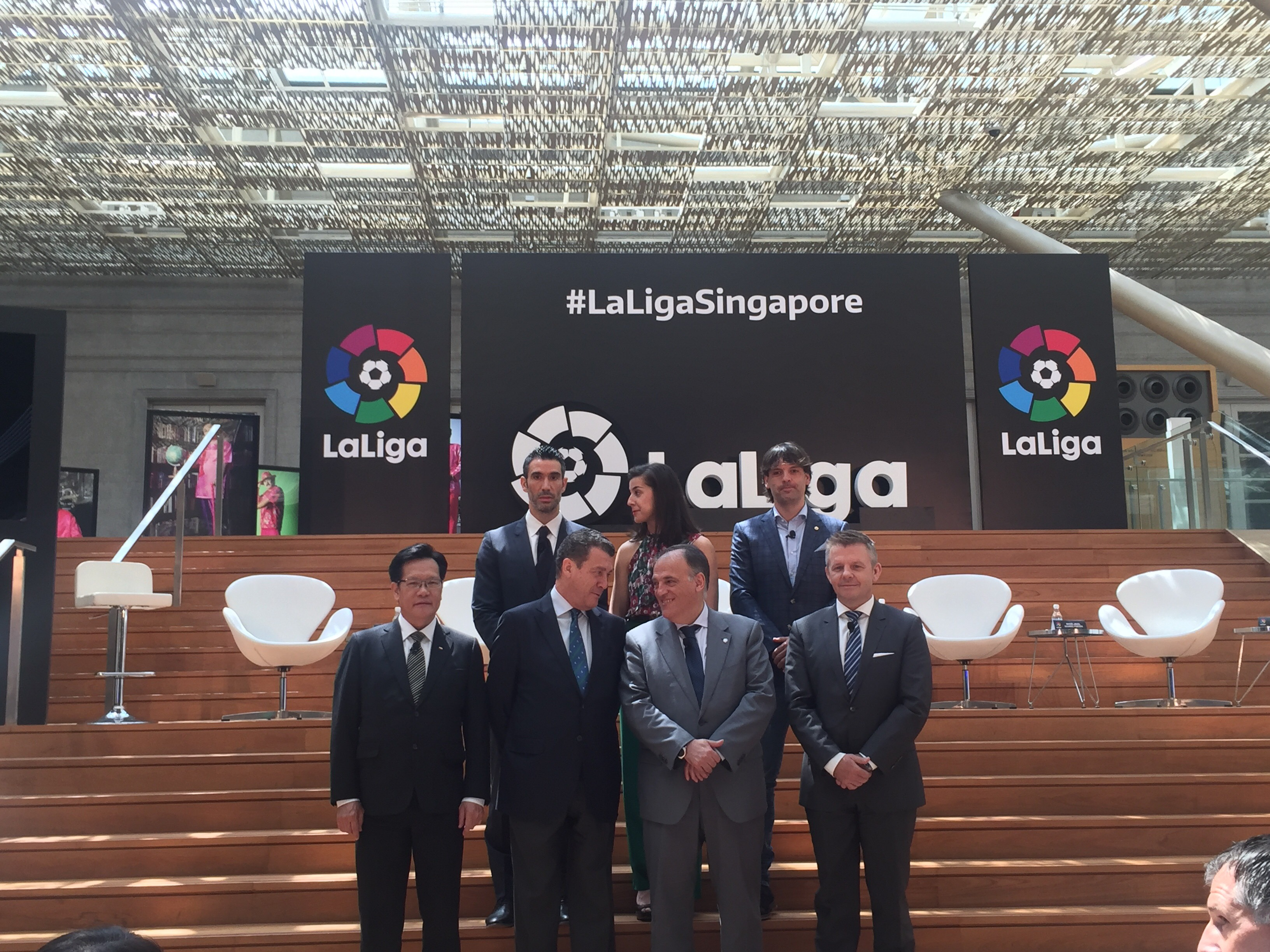La Liga launches regional office in Singapore, to bring more teams over