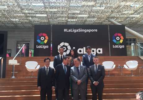 La Liga office launched in Singapore