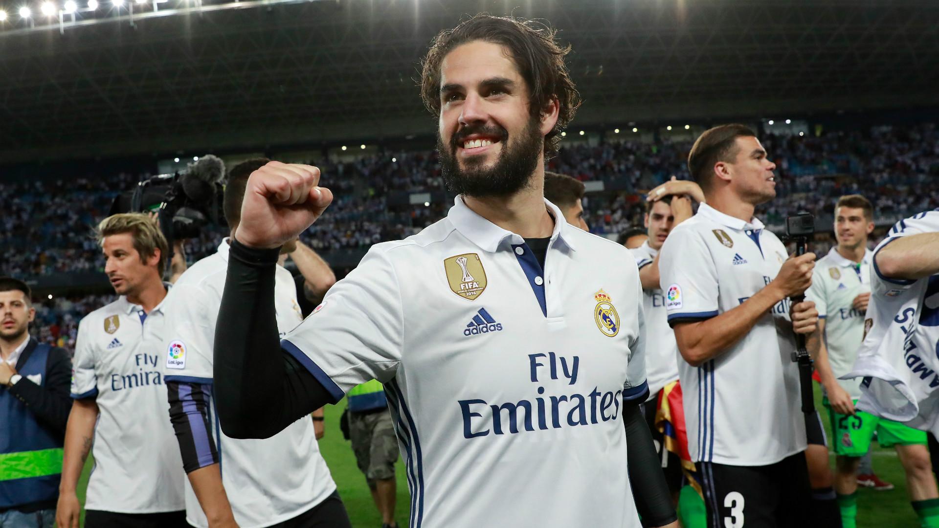 Isco Real Madrid 2017