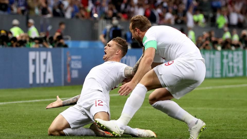 Kieran Trippier England Croatia World Cup 11072018