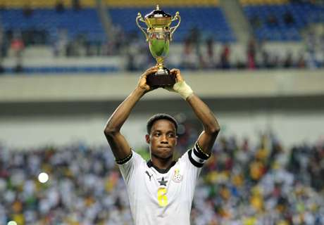 Ghana earns two nominations for Caf Awards