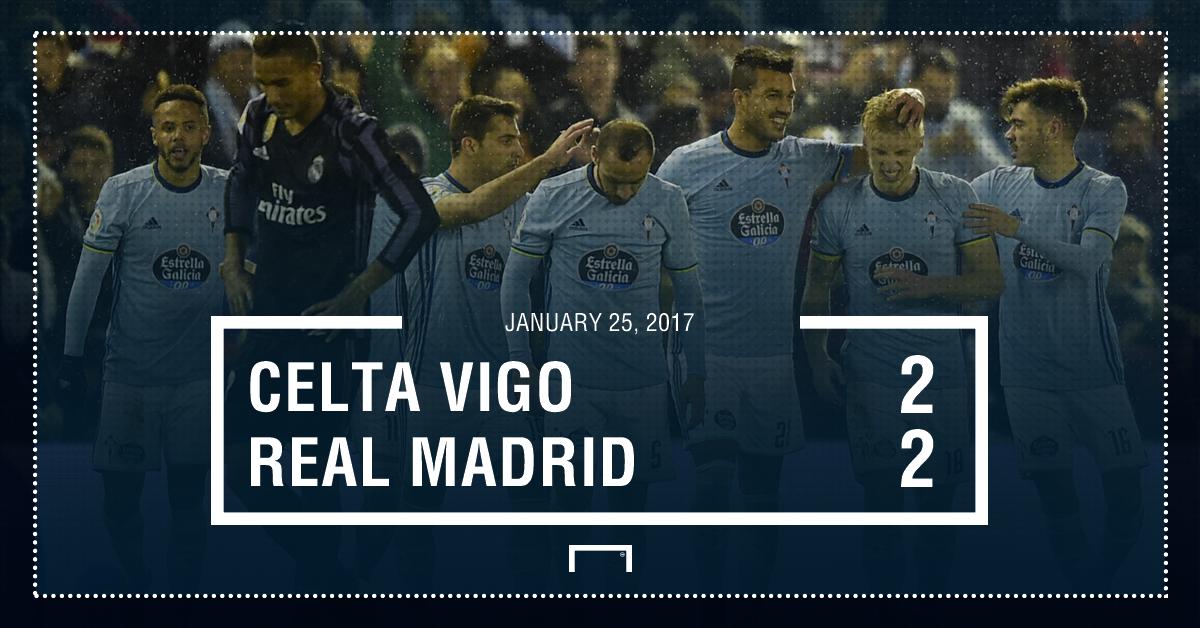 Celta Madrid result