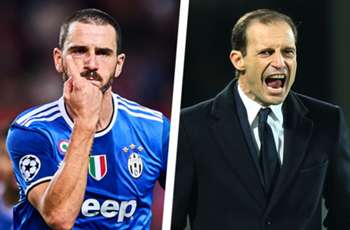 'Shut up, dickhead!' - Juventus boss Allegri rants at Bonucci in heated row