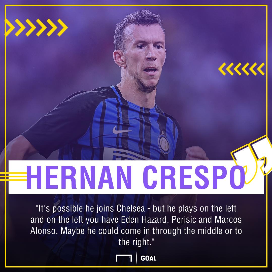 Hernan Crespo Ivan Perisic Chelsea
