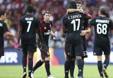 Rodriguez Bawa Milan Menang Tipis