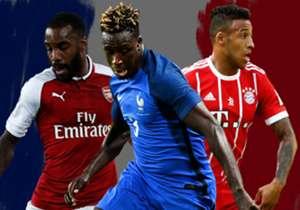 Frankreich ist seit vielen Jahren eine große Fußballnation. Aktuell ist der teuerste Fußballer aller Zeiten Franzose. Auch City-Neuzugang Benjamin Mendy ist ganz vorne mit dabei. Goal zeigt Euch die Top-15. (Quelle: transfermarkt.de)
