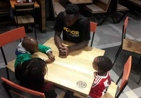 Wanyama extends love to cancer patient