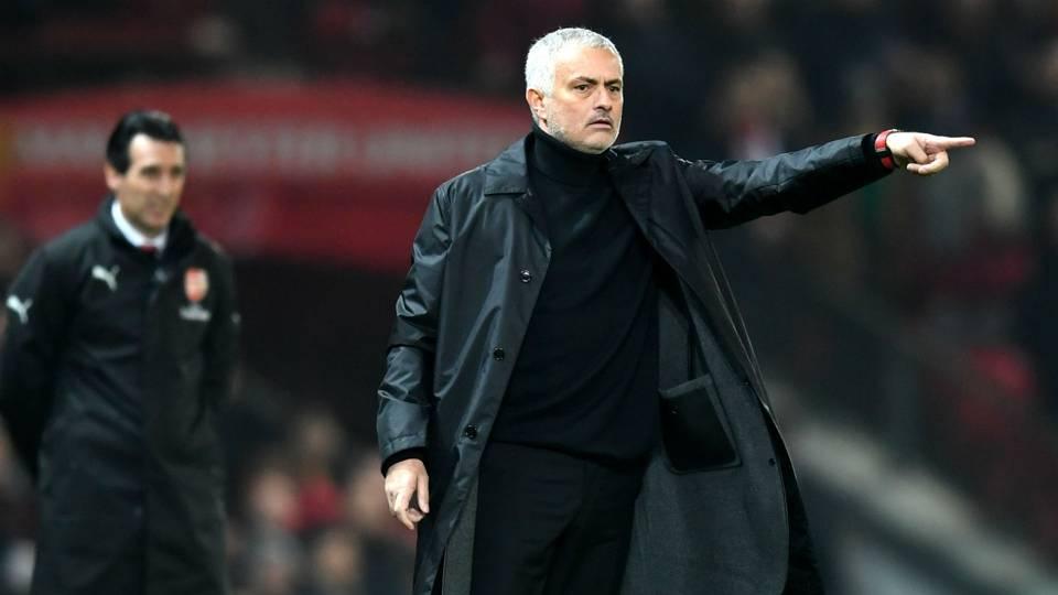 Jose Mourinho Manchester United Arsenal Premier League 05122018