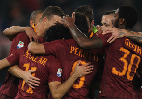 Roma profiteert nipt van misstap Juve