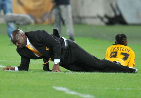 Komphela: The grass was just pathetic