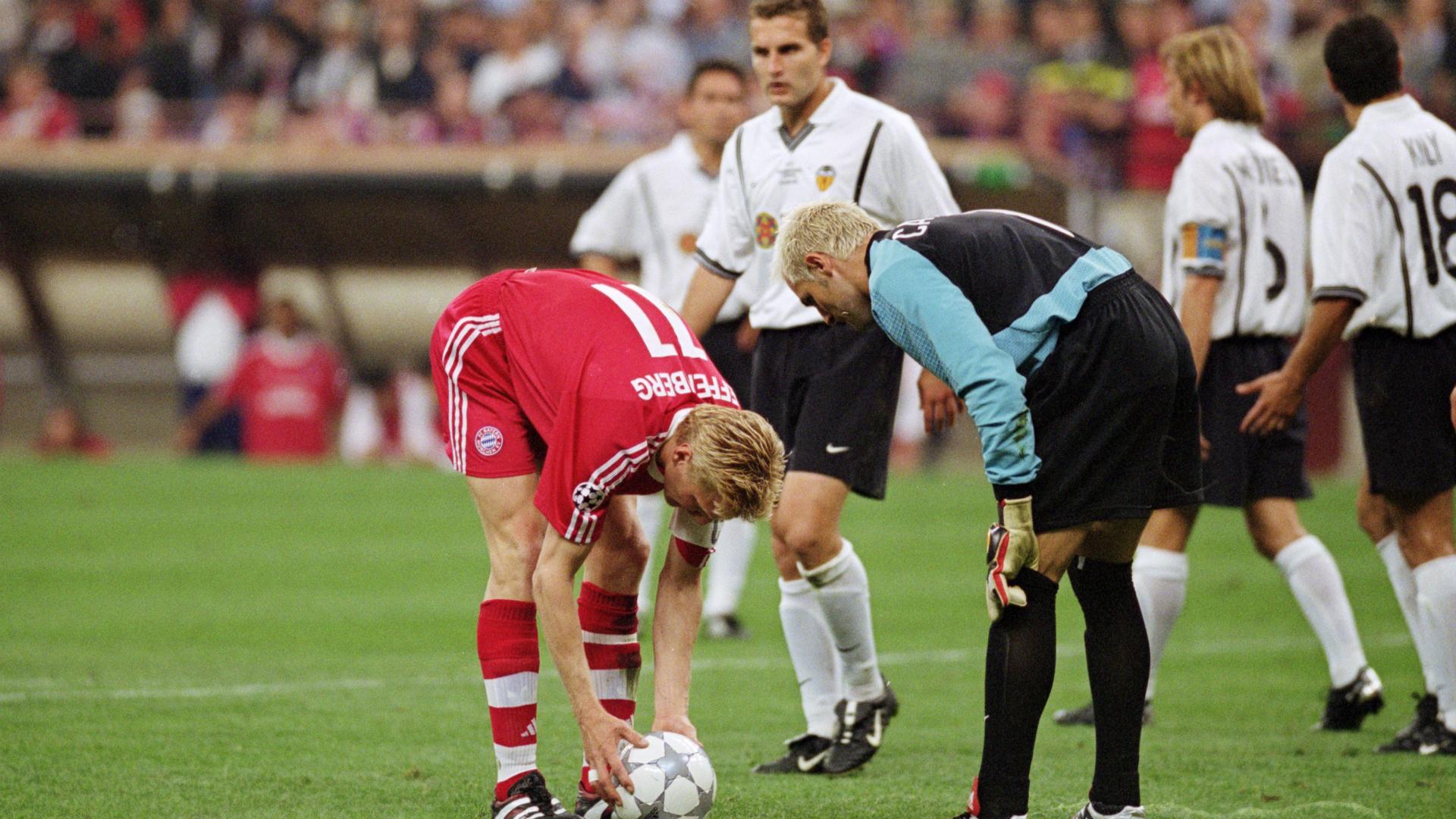 Canizares Valencia Bayern Munich Champions League 23052001