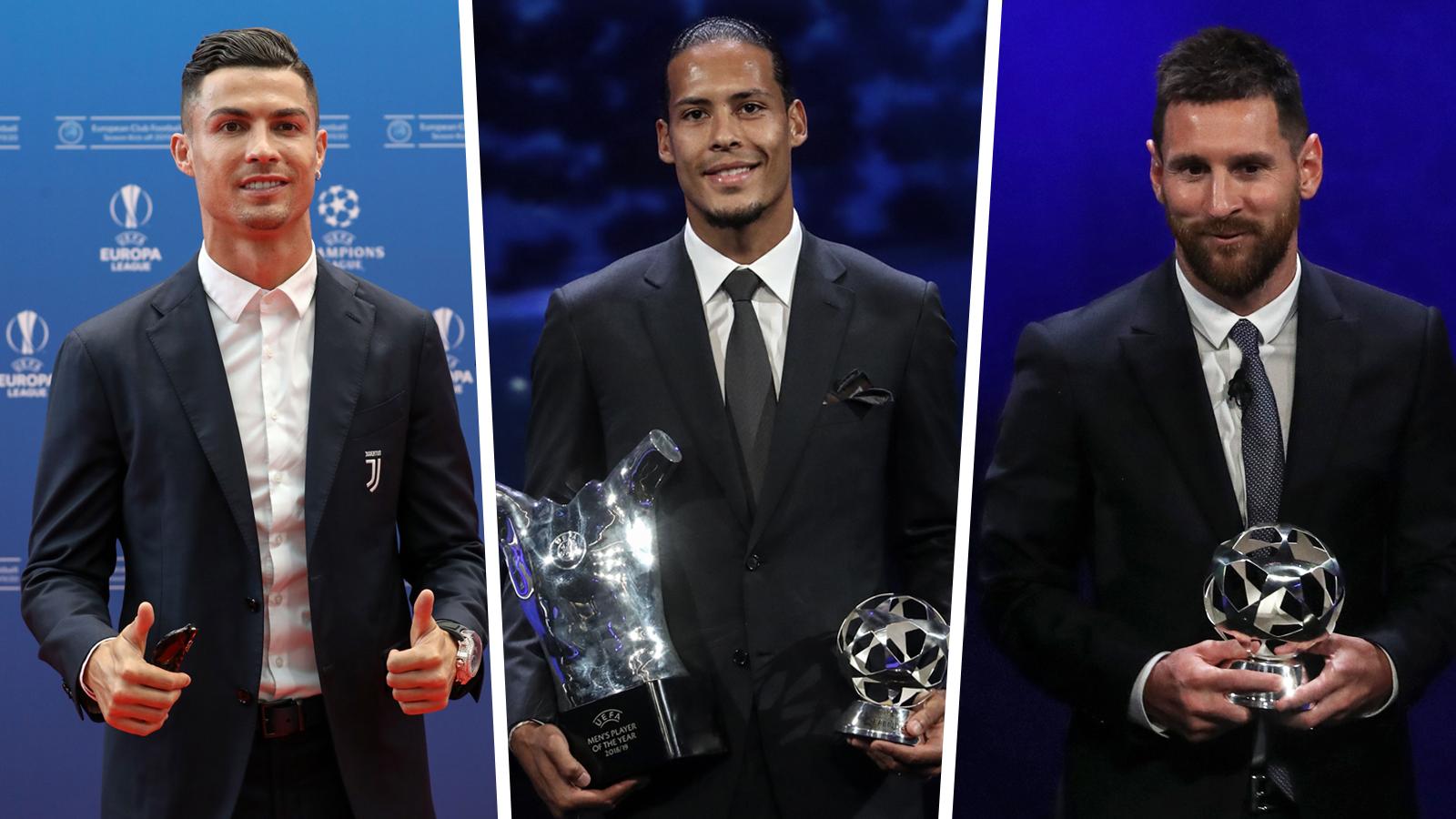 Ballon d'Or 2019 winner live blog: Van Dijk, Messi & Ronaldo vie for best player of the year award