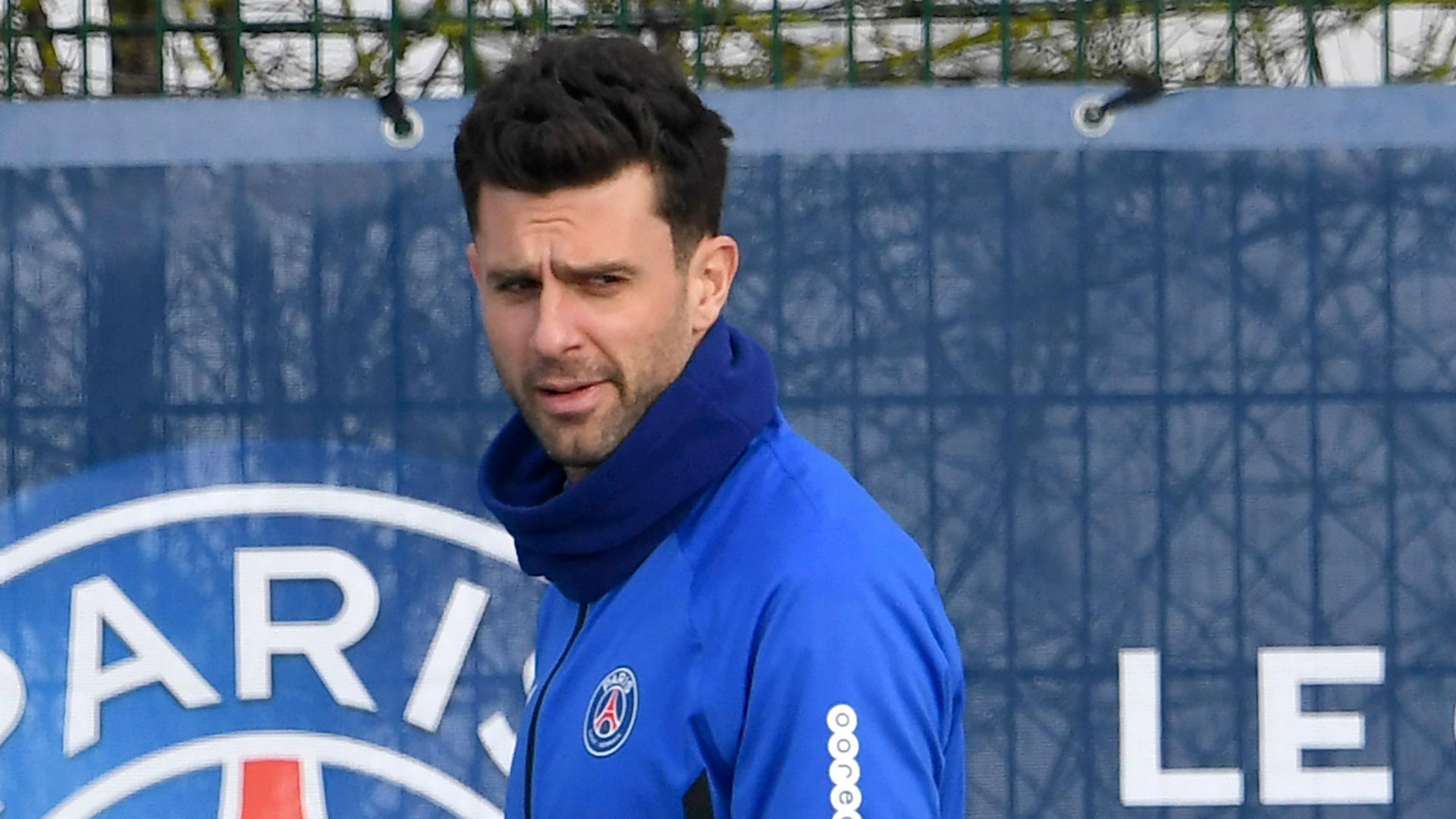 """Thiago Motta """"rêve"""" de diriger le PSG mais ne veut pas faire d'ombre à Tuchel"""