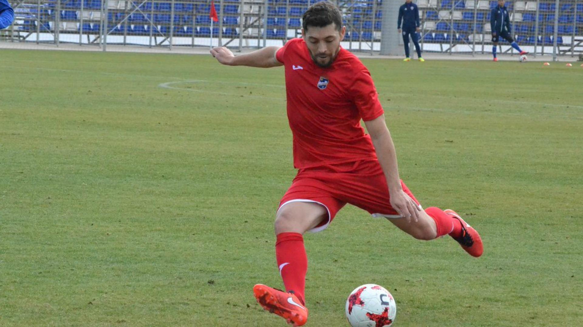 José Rojas logró el ascenso a la segunda división española