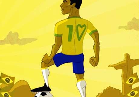 CARTOON: Get well soon, Pele!