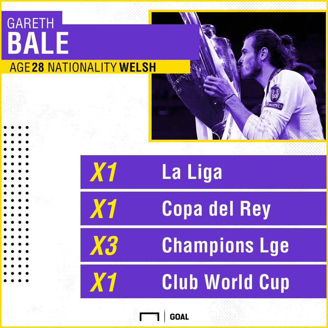Gareth Bale Real Madrid titles