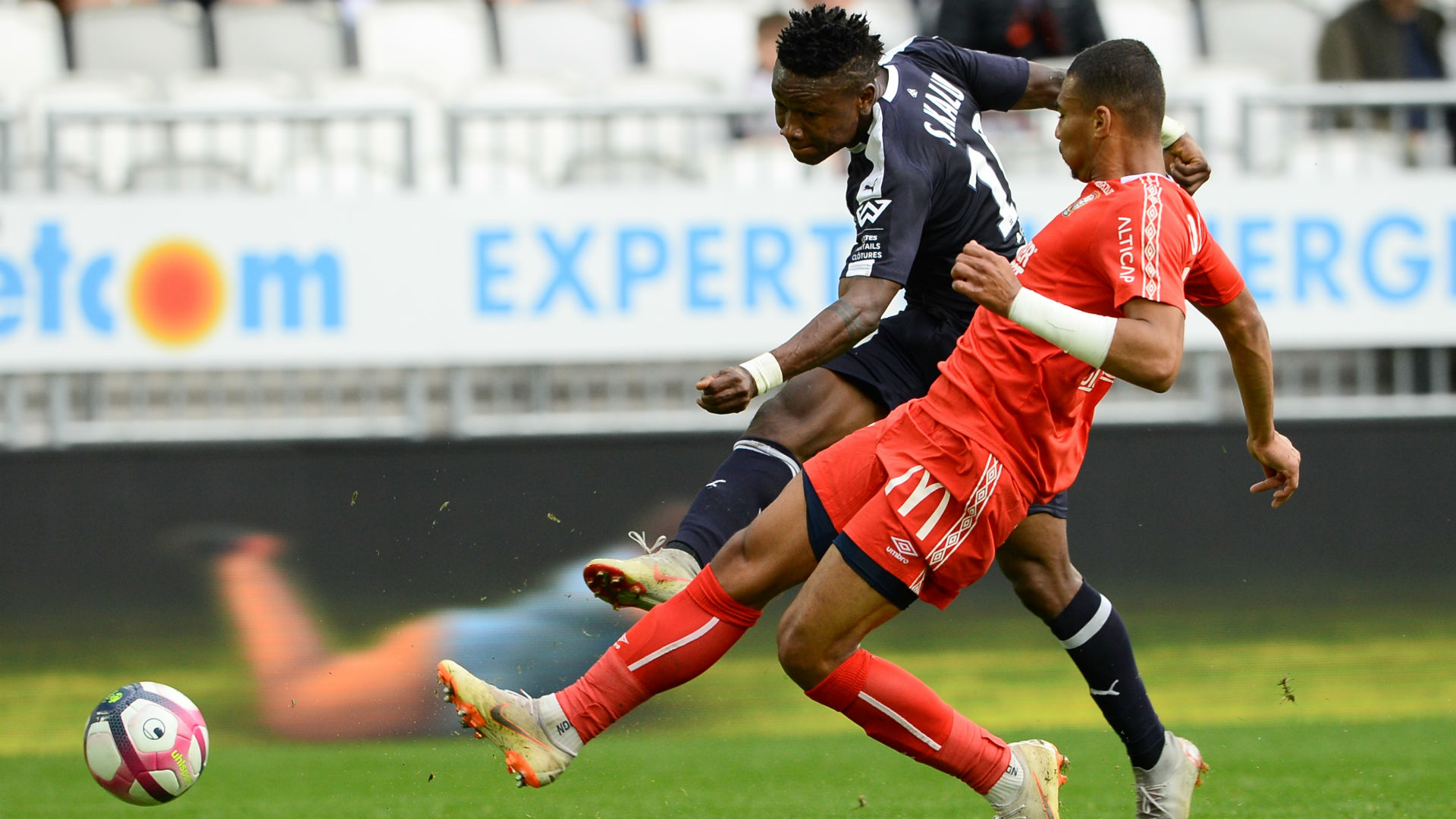 Nigeria duo Kalu and Maja in action as Bordeaux hold Brest