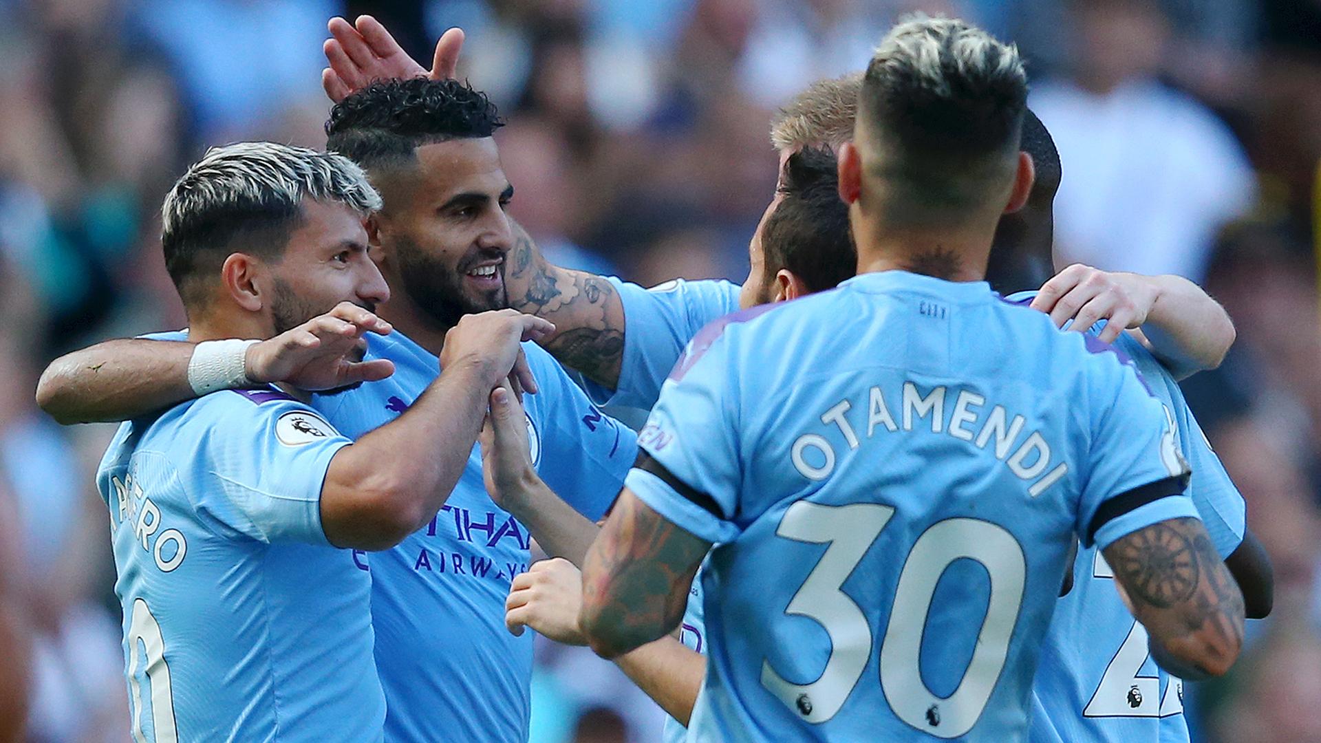 Mahrez scores first Premier League goal of the season as Manchester City demolish Watford