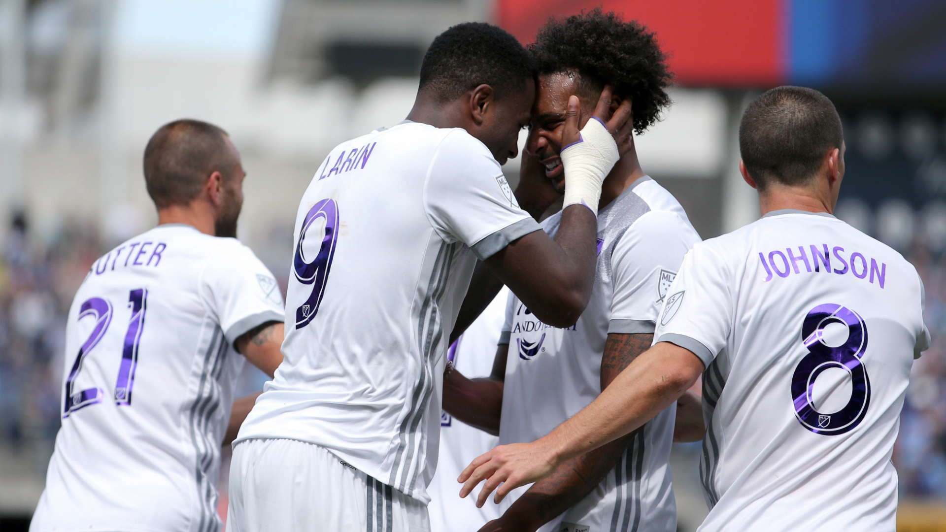 Cyle Larin Giles Barnes Will Johnson Orlando City