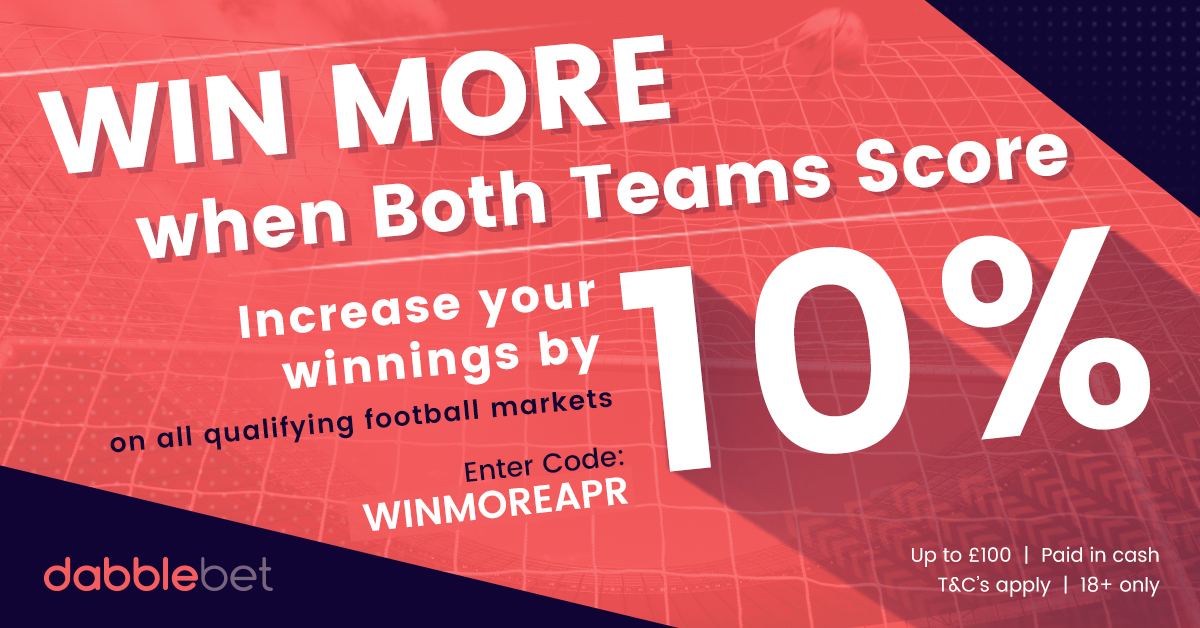 BTTS YOU WIN MORE APRIL EXTENDED