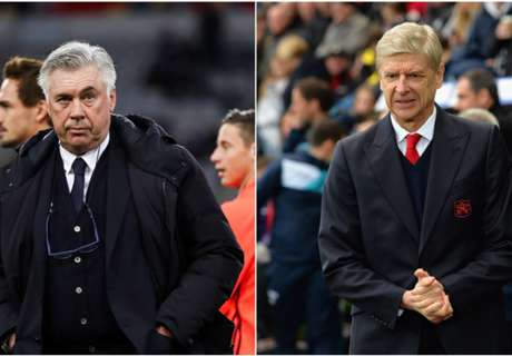 How Wenger is blown away by Ancelotti