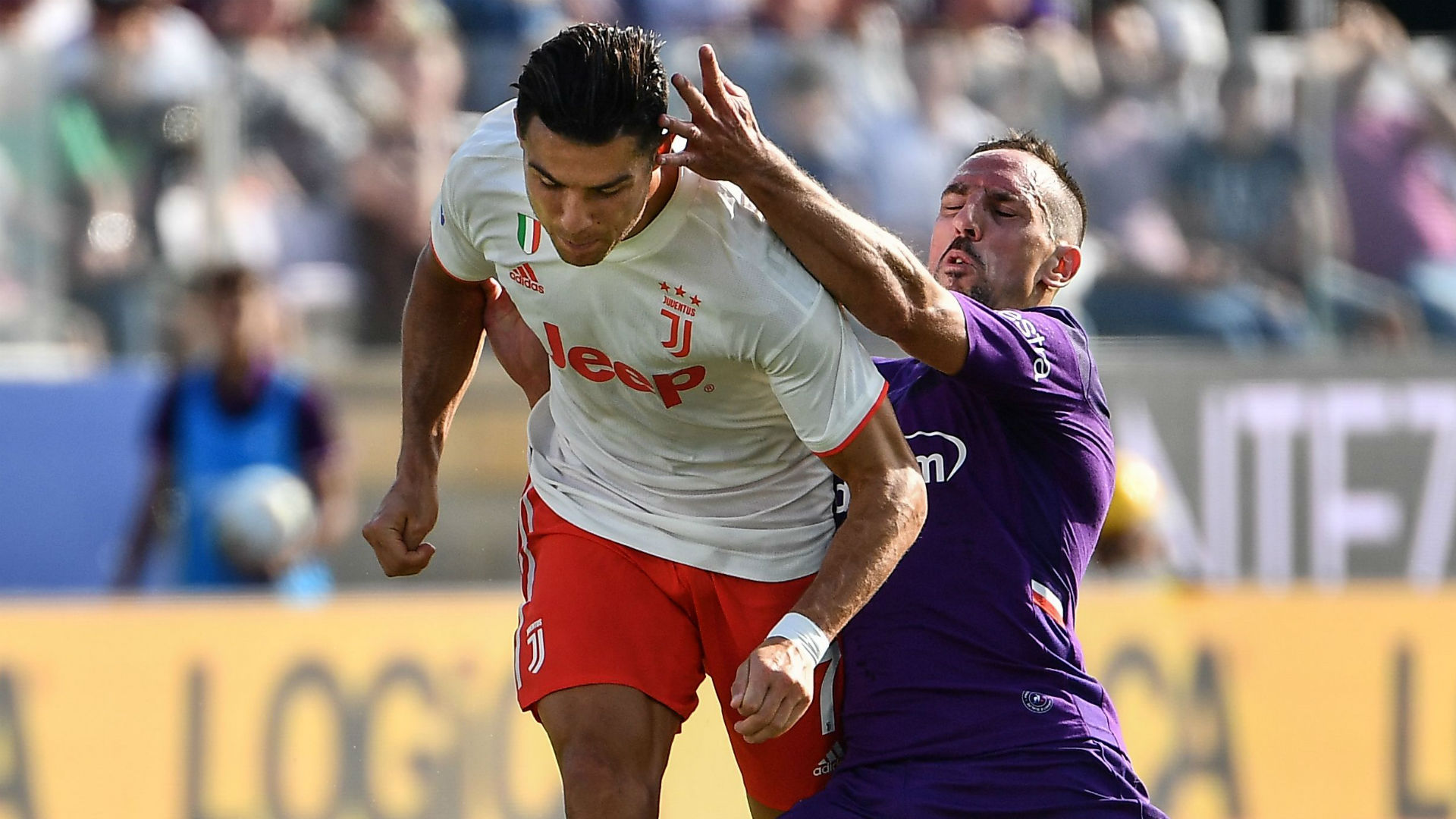 'Ribery at 36 was better than Ronaldo!' - Fiorentina owner gushes after veteran stars versus Juventus