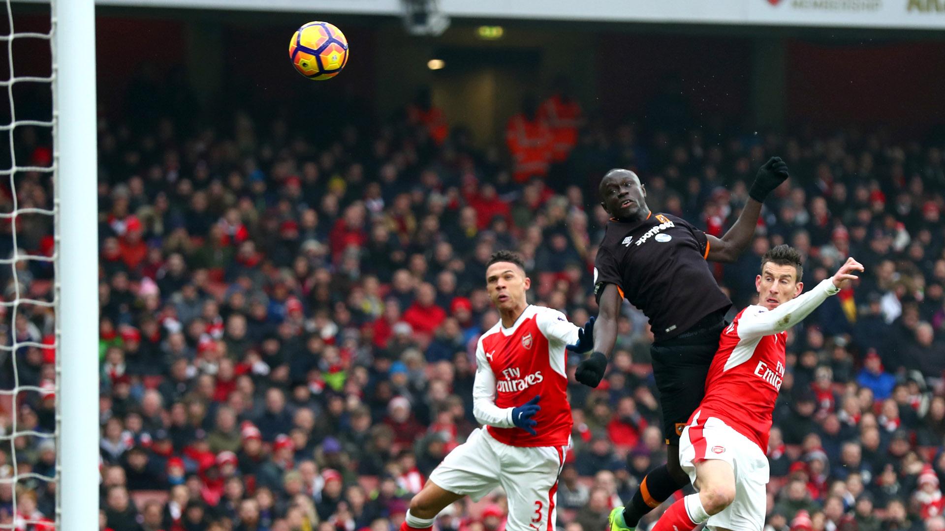Oumar Niasse Hull City Arsenal Premier League