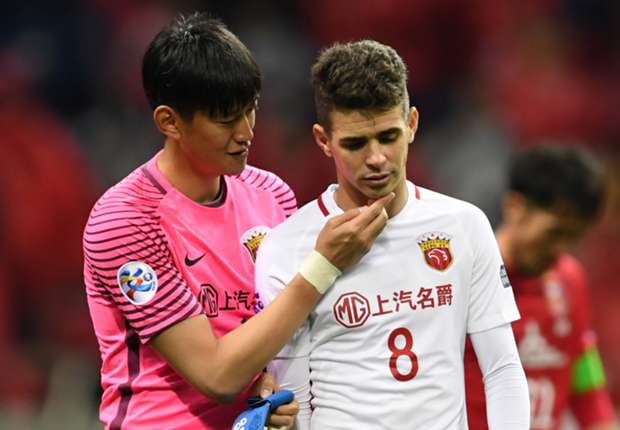 Oscar banned for mammoth eight games after inciting China brawl