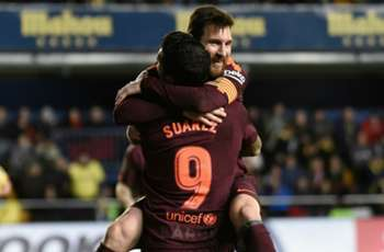 Messi and Suarez lead Barca past Villarreal
